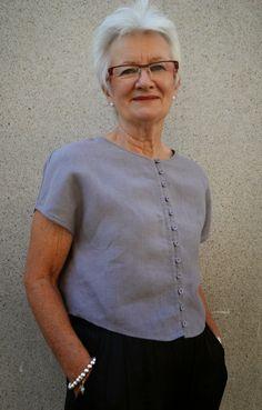 Sew Tessuti : The Judy Top Pattern