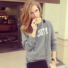 Off Duty Sweatshirt | Spotted on @Chiara Ferragni