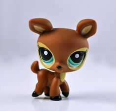 Littlest Pet Shop DEER Collection Child Girl Figure Toy Loose Rare LPS701 #Hasbro