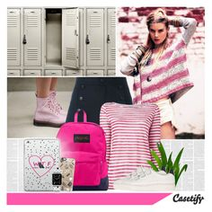 """""""Casetify"""" by bklana ❤ liked on Polyvore featuring Free People, Étoile Isabel Marant, Majestic Filatures, JanSport, Sandro, Casetify, women's clothing, women, female and woman"""