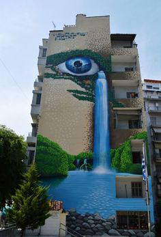 ISANE 51_Street art in Greece This is Art, not Mine nor yours, but It deserves to be seen...by everyone...Share it...