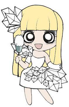 Chibi Gaga!!!!!!!!!!!!!!! ;D