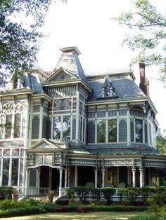 Victorian architectural art.