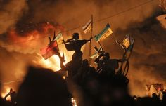 At least 9 killed in Ukraine protests:Violent clashes between hard-line protesters and police erupted Tuesday in Kiev, the Ukrainian capital, after more than a week of relative calm, leaving at least nine people dead and many more wounded.