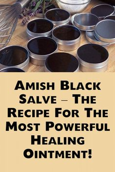 Amish Black Salve