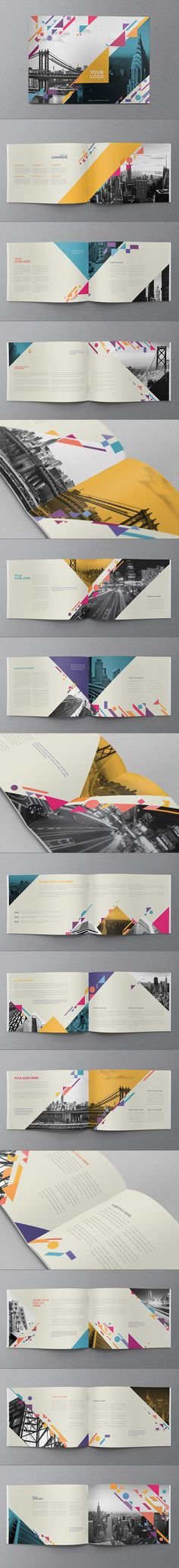 Colorful Shapes Brochure. Download here: http://graphicriver.net/item/colorful-shapes-brochure/9927862?ref=abradesign #design #brochure