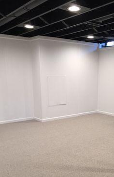 44 best diy unfinished basement images basement remodeling rh pinterest com