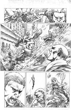 Justice League of America tryout page 1