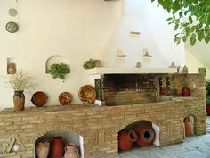 """Skopelos island - """"Marlitsis"""" rooms to let - Barbecue"""