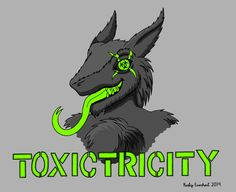 Commission: Toxictricity the Sergal by djrustye.deviantart.com on @DeviantArt
