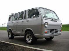 chevrolet sportsvan 60's