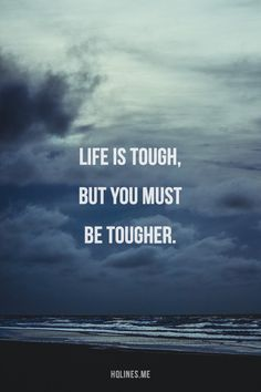 Just get tougher to win.