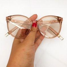 Oculos Flamingo Rose Transparente #oculos