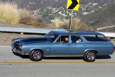 Chevrolet Chevelle SS Station Wagon