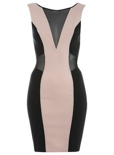 Panel cut out dress... Gorge  #Love