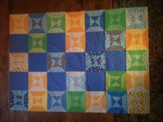 Quilt top that I just finished.