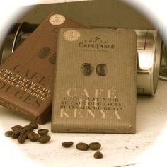 Chocolate from Café-Tasse with coffee taste - yummy - find it on www.vintage-kompagniet.dk