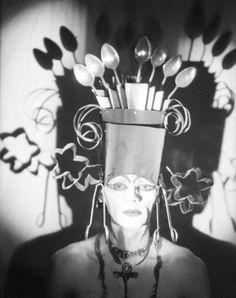 coocoo for cocoa puffs. -- Baroness Elsa von Freytag-Loringhoven, Berlin, c. 1927