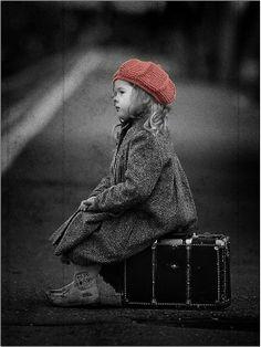 """color """"splash"""" / little traveler #red hat"""