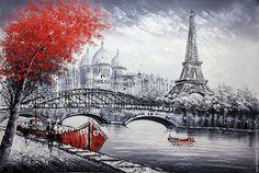 「картина париж эйфелева башня」の画像検索結果