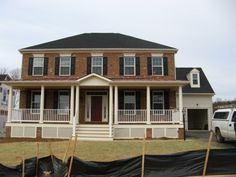 Front Porch Addition Colonial | front porch ideas | Pinterest ...