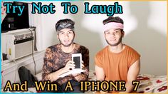 TRY NOT TO LAUGH CHALLENGE (iPhone 7 Giveaway) Try Not To Laugh, Iphone 7, Giveaway, Challenges, Iphone Seven