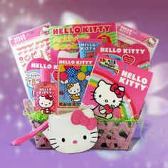GiftBasket4Kids GBHK1000 Hello Kitty Gift Baskets for Girls Review Buy Now