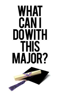 What can I do with my Major? With Downloadable PDFs for each one