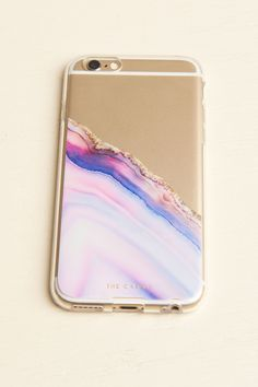 Pink and Purple Agate iPhone 6/6s Case - Earthbound Trading Company