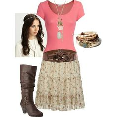 Not actually my style, but it is cute and I have several friends that could pull it off! :)