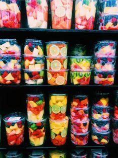 Aesthetic food, Yummy food, Food goals, Healthy re I Love Food, Good Food, Yummy Food, Healthy Snacks, Healthy Eating, Healthy Recipes, Diet Recipes, Healthy Fridge, Juice Recipes