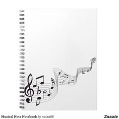 Musical Note Notebook
