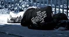 Tonight, there will be 800 to 1,200 veterans sleeping on the streets of the Commonwealth of Kentucky ALONE.  This is not how to support our troops.  Yes, they may be self medicating their PTSD, it is our job as a nation to lift them up, not walk blindly past.