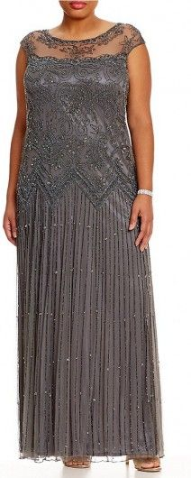 Gray Plus Size Mother of Bride Dresses - Eleventh Dress | Find your perfect mother of the bride dress