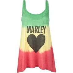 Bob Marley tank top.