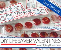 DIY LifeSaver Valentines with Free Printable   Makely School for Girls