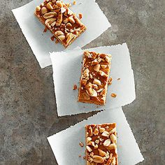 Butterscotch Pretzel Bars         |          Date A Cake