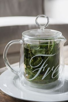 Take a fresh herb tea