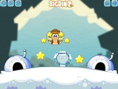 En este juego tiene que ayudar a los Mamut a llegar a sus casita, descongelarlos y captura estrellas. http://www.ispajuegos.com/jugar8531-Freezy-Mammoth.html