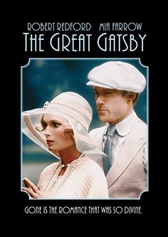 Jay Gatsby & Daisy Buchanan from the 1974 version of The Great Gatsby - we'll see how Leonardo DiCaprio and Carey Mulligan stand up to Robert Redford and Mia Farrow! Jay Gatsby, Gatsby Style, Gatsby Book, 1920s Style, Mia Farrow, Scott Fitzgerald, Leonardo Dicaprio, Old Movies, Great Movies