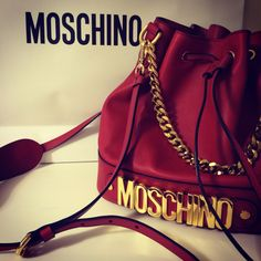 My beautiful Moschino bag ❤️