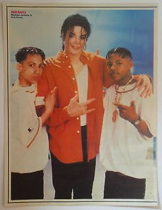 Michael was a true gangster( I'm not making fun of him but if you don't believe me look at his hand)