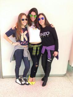 FEBRUARY: 5Fs Kenzo girls. 212 872 2575