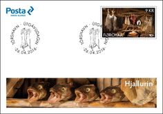 """The Faroese contribution to Norden 2016 stamps issue depicts some of the traditional Faroese specialties which are stored in the so-called """"hjallur""""."""