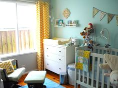 Paper + Ribbons Jewelry Designs: Button's Nursery Reveal
