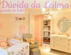 Construindo Minha Casa Clean: Dúvida da Leitora Suelene! Decoração do Quarto de Bebê Menina!