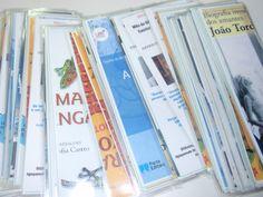 Os marcadores contêm imagens das metas curriculares para os diferentes ciclos.