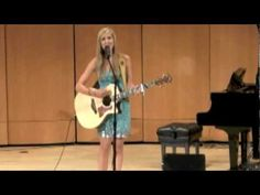 """Kaleigh Jo Kirk at """"Edmonton Undiscovered"""" Original """"Alone in the Crowd"""" by Kaleigh Jo Kirk 2012"""