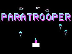 LGR - Paratrooper - DOS PC Game Review