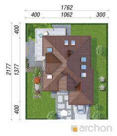 projekt Dom w rukoli (N) sytuacja